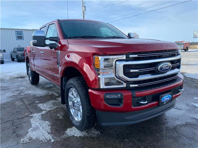 2021 Ford F-350 Platinum (Stk: 21113) in Wilkie - Image 1 of 24