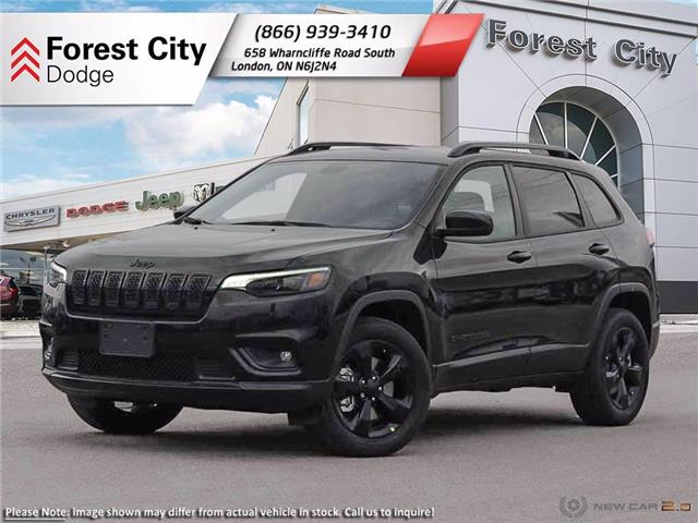 2021 Jeep Cherokee Altitude (Stk: 21-8010) in London - Image 1 of 23