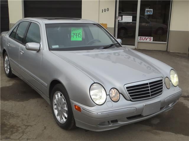 2001 Mercedes-Benz E-Class Base (Stk: ) in Kamloops - Image 1 of 11