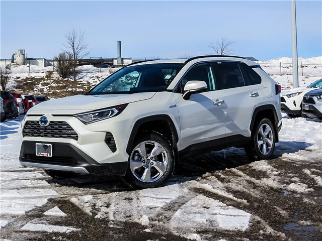 2021 Toyota RAV4 Hybrid Limited (Stk: 15222) in Waterloo - Image 1 of 22