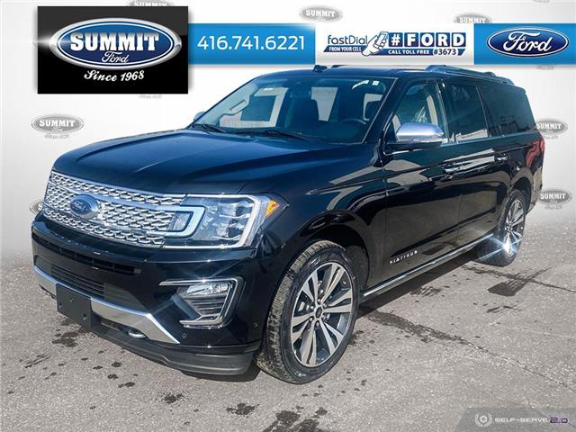 2021 Ford Expedition Max Platinum (Stk: 21M8357) in Toronto - Image 1 of 25