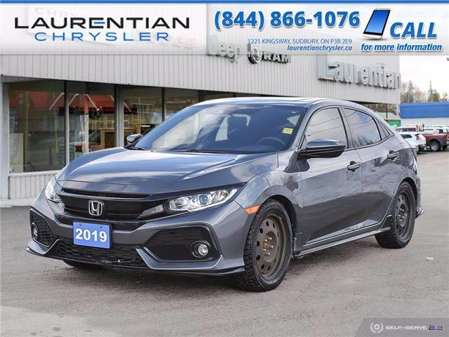2019 Honda Civic Sport (Stk: 21097A) in Sudbury - Image 1 of 27