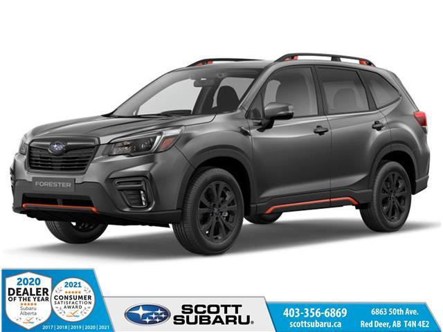 2021 Subaru Forester Sport (Stk: 496504) in Red Deer - Image 1 of 10