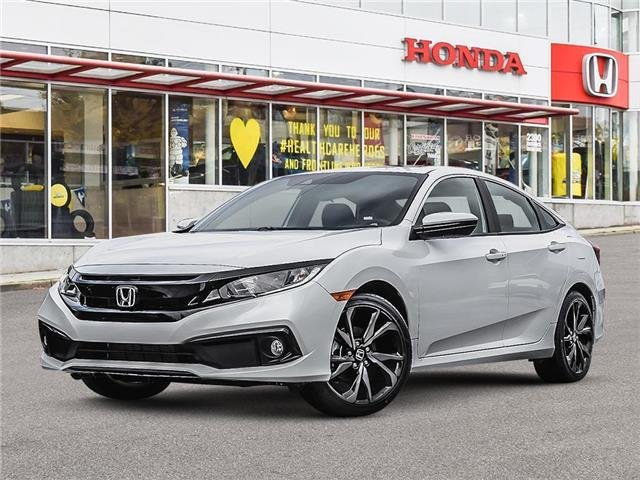2021 Honda Civic Sport (Stk: 3M05950) in Vancouver - Image 1 of 23