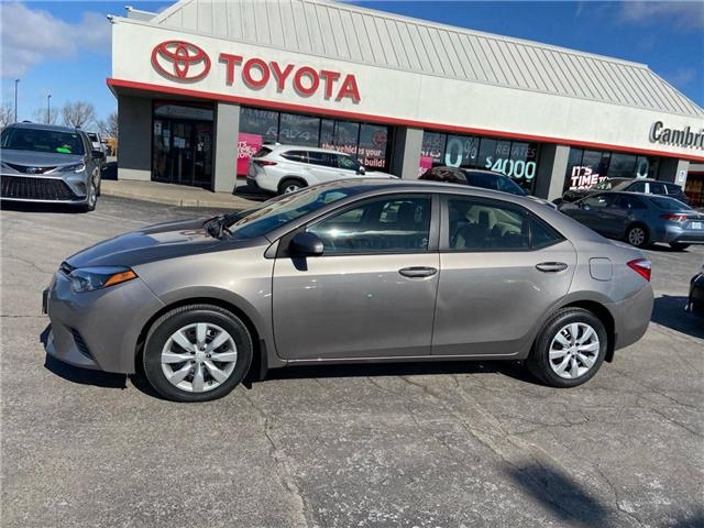 2017 Toyota Corolla  (Stk: 2103301) in Cambridge - Image 1 of 14