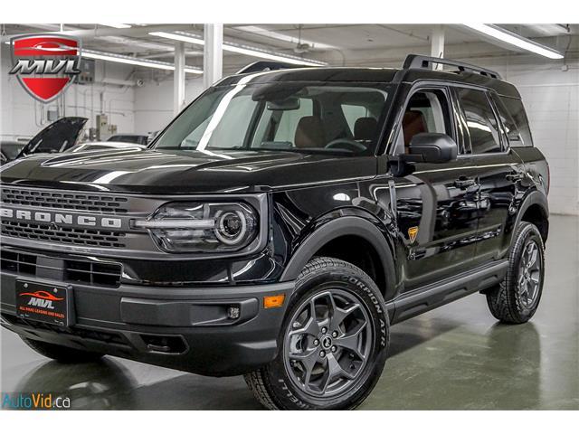 2021 Ford Bronco Sport Badlands (Stk: ) in Oakville - Image 1 of 33
