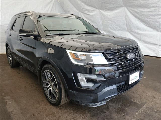 2017 Ford Explorer Sport (Stk: IU2226) in Thunder Bay - Image 1 of 20