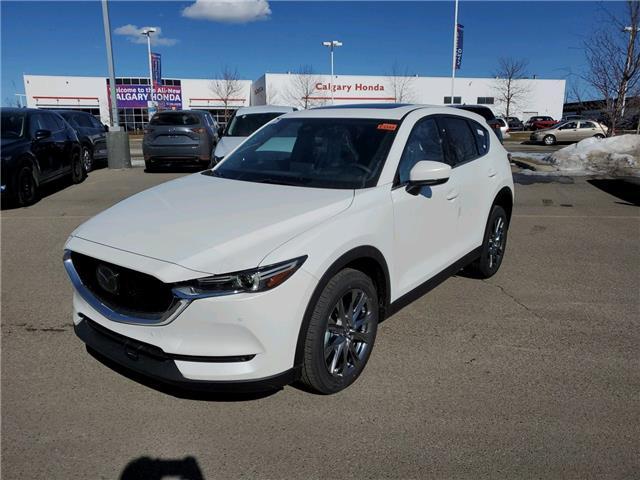 2021 Mazda CX-5 Signature (Stk: N6508) in Calgary - Image 1 of 4