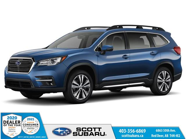 2021 Subaru Ascent Limited (Stk: 438152) in Red Deer - Image 1 of 10