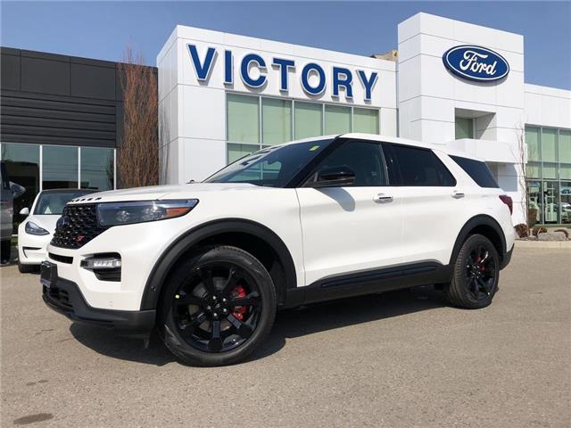 2021 Ford Explorer ST (Stk: VEX20100) in Chatham - Image 1 of 17