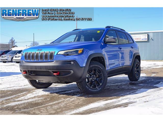 2021 Jeep Cherokee Trailhawk (Stk: L140) in Renfrew - Image 1 of 30