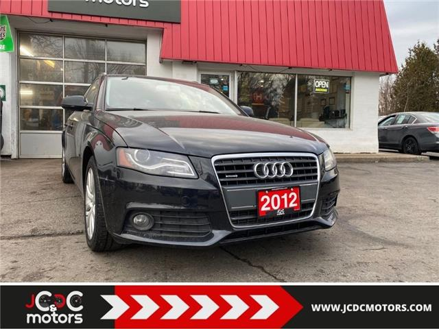 2012 Audi A4 2.0T (Stk: ) in Cobourg - Image 1 of 21