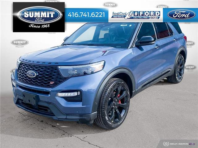2021 Ford Explorer ST (Stk: 21T8325) in Toronto - Image 1 of 25