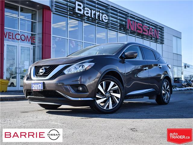 2017 Nissan Murano Platinum (Stk: P4773) in Barrie - Image 1 of 30