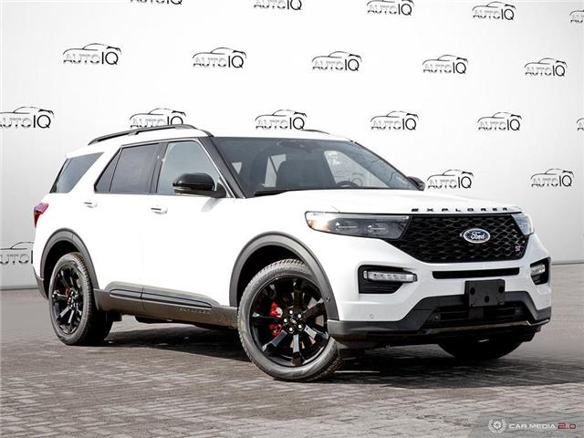 2021 Ford Explorer ST (Stk: W0198) in Barrie - Image 1 of 28