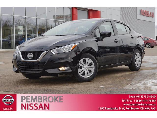 2021 Nissan Versa S (Stk: 21007) in Pembroke - Image 1 of 28