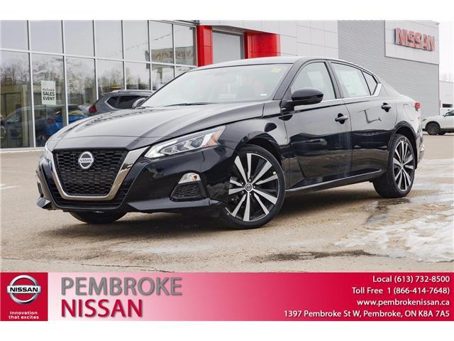 2021 Nissan Altima 2.5 SR (Stk: 21045) in Pembroke - Image 1 of 30