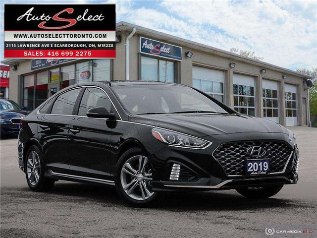 2019 Hyundai Sonata Sport (Stk: 1SNH61A) in Scarborough - Image 1 of 30