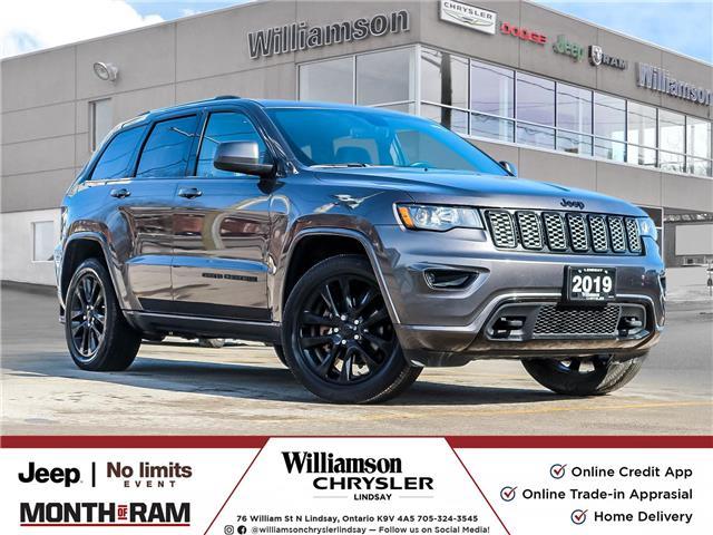 2019 Jeep Grand Cherokee Laredo (Stk: U1201) in Lindsay - Image 1 of 28