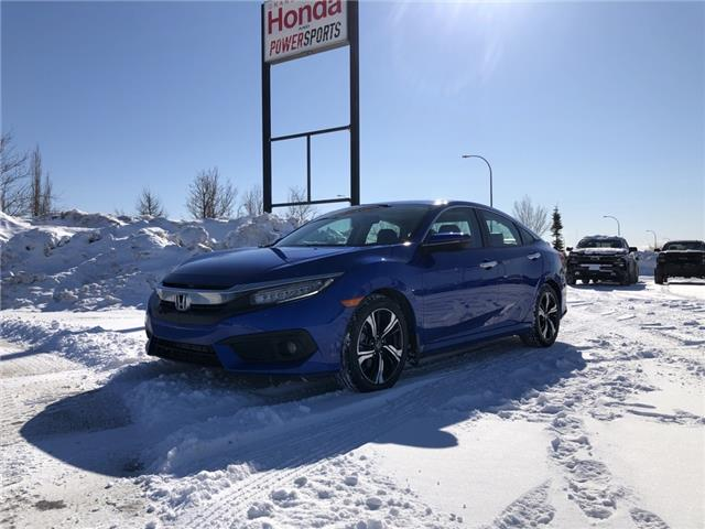 2017 Honda Civic Touring (Stk: 20-085A) in Grande Prairie - Image 1 of 23