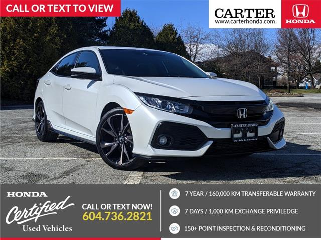 2018 Honda Civic Sport (Stk: 9L39571) in Vancouver - Image 1 of 22