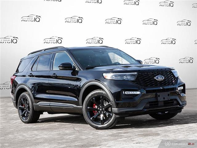 2021 Ford Explorer ST Black