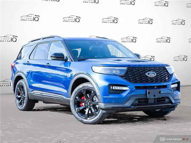 2021 Ford Explorer ST (Stk: W0206) in Barrie - Image 1 of 28