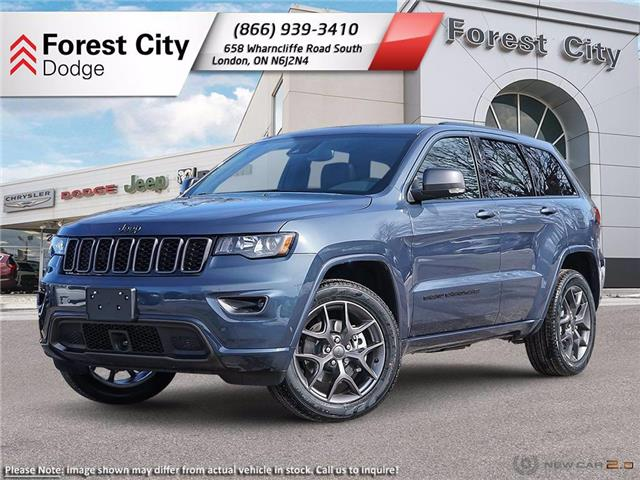 2021 Jeep Grand Cherokee Limited (Stk: 21-7018) in London - Image 1 of 23