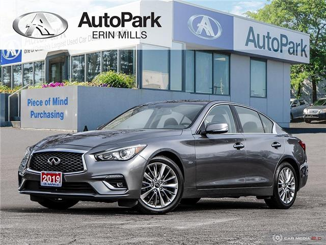 2019 Infiniti Q50 3.0t LUXE (Stk: 553850AP) in Mississauga - Image 1 of 27