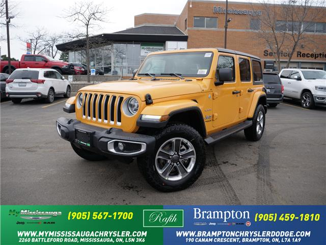 2021 Jeep Wrangler Unlimited Sahara (Stk: 21262) in Mississauga - Image 1 of 6
