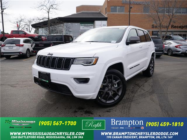 2021 Jeep Grand Cherokee Limited (Stk: 21298) in Mississauga - Image 1 of 6