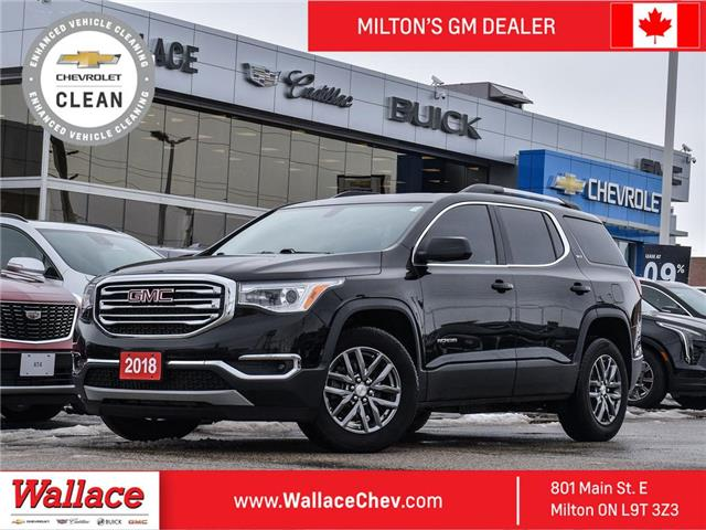 2018 GMC Acadia AWD 6PASS,LEATHER,SLT-1,AWD,SUNROOF,TRL PACK, NAV (Stk: PL5364) in Milton - Image 1 of 23