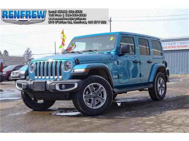 2020 Jeep Wrangler Unlimited Sahara (Stk: P1767) in Renfrew - Image 1 of 30