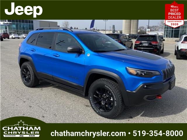 2021 Jeep Cherokee Trailhawk (Stk: N05000) in Chatham - Image 1 of 19
