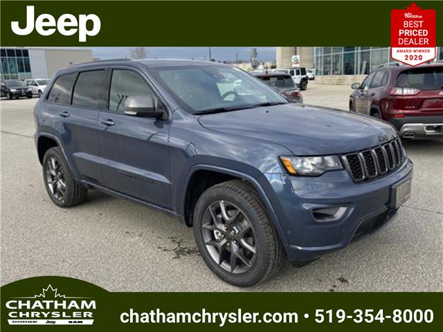 2021 Jeep Grand Cherokee Limited (Stk: N04907) in Chatham - Image 1 of 18