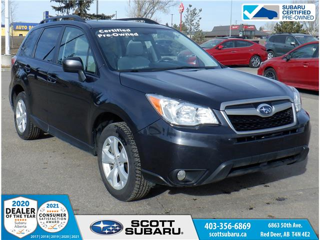 2016 Subaru Forester 2.5i Touring Package JF2SJCHC0GH436673 36673U in Red Deer