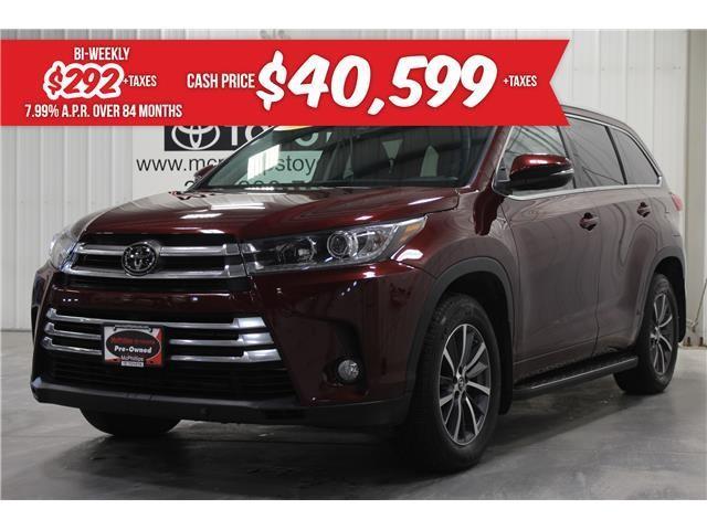 2017 Toyota Highlander XLE (Stk: S075365A) in Winnipeg - Image 1 of 26