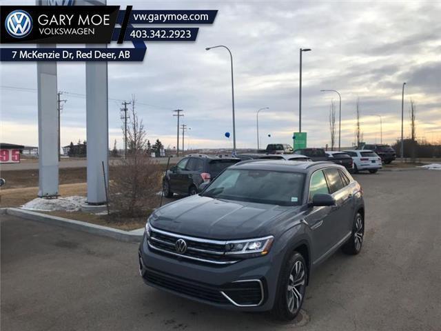 2021 Volkswagen Atlas Cross Sport Execline 3.6 FSI (Stk: 1CS2714) in Red Deer County - Image 1 of 8