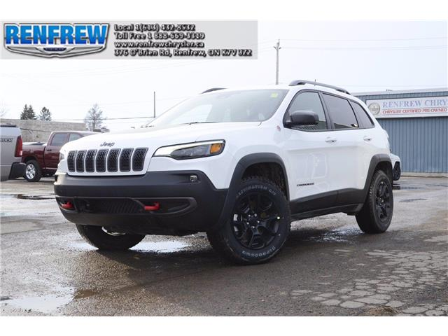 2021 Jeep Cherokee Trailhawk (Stk: M017) in Renfrew - Image 1 of 30