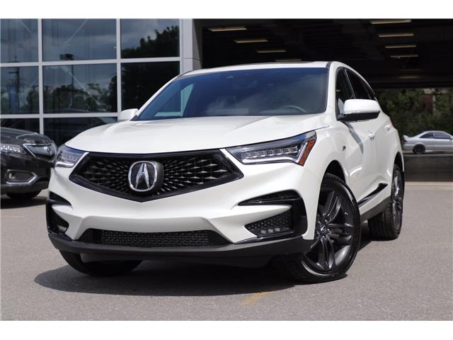 2021 Acura RDX A-Spec (Stk: 19557) in Ottawa - Image 1 of 30