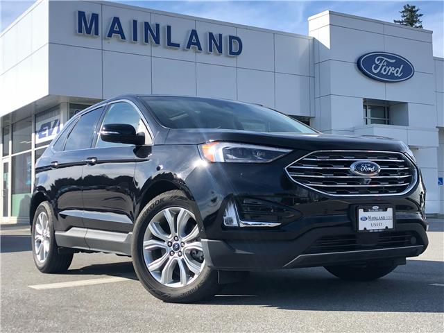 2020 Ford Edge Titanium (Stk: P7494) in Vancouver - Image 1 of 28