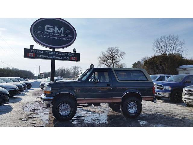 1995 Ford Bronco Eddie Bauer (Stk: SLA81601) in Rockland - Image 1 of 14
