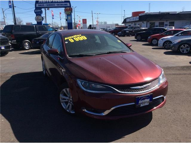 2015 Chrysler 200 Limited (Stk: A8757) in Sarnia - Image 1 of 30