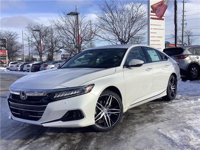2021 Honda Accord Touring 1.5T (Stk: 21447) in Barrie - Image 1 of 30