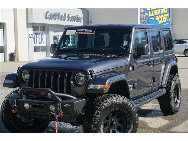 2019 Jeep Wrangler Unlimited Sahara (Stk: 21-057B) in Salmon Arm - Image 1 of 26