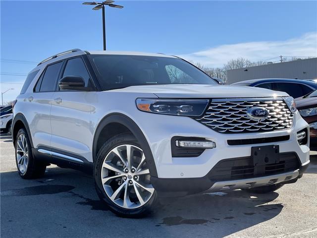 2021 Ford Explorer Platinum (Stk: 21T195) in Midland - Image 1 of 15