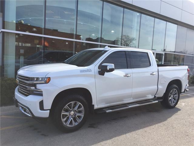 Used 2020 Chevrolet Silverado 1500 High Country HIGH COUNTRY|CREW CAB|4X4|NAV|SUNROOF|WIRELESS CHARGING|PARK ASSIST|BOSE AUDIO|HEATED SEATS/STEERING - London - Finch Chevrolet