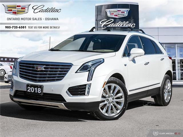 2018 Cadillac XT5 Platinum 1GYKNGRS6JZ105012 14037A in Oshawa