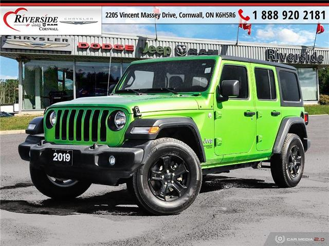 2019 Jeep Wrangler Unlimited Sport (Stk: W02003) in Cornwall - Image 1 of 27