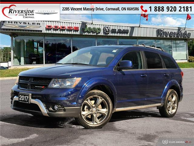 2017 Dodge Journey Crossroad (Stk: N21062A) in Cornwall - Image 1 of 27